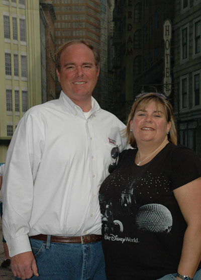 Chris Seffrin and wife Beth Seffrin